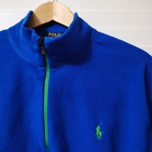 Polo Ralph Lauren Quarter Zip Fleece Jacket